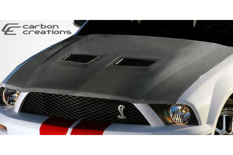2007 Ford Mustang Carbon Creations Hood