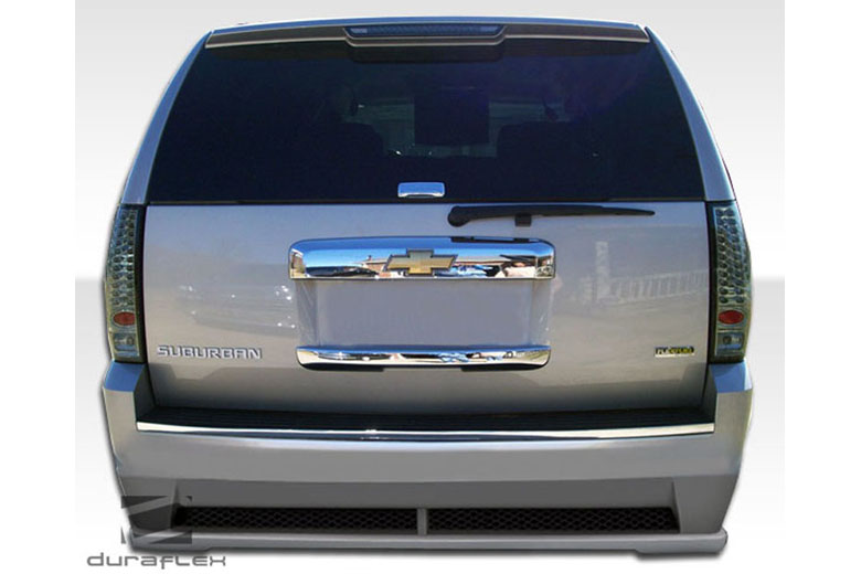 2011 Chevrolet Suburban Duraflex Hot Wheels Bumper (Rear)