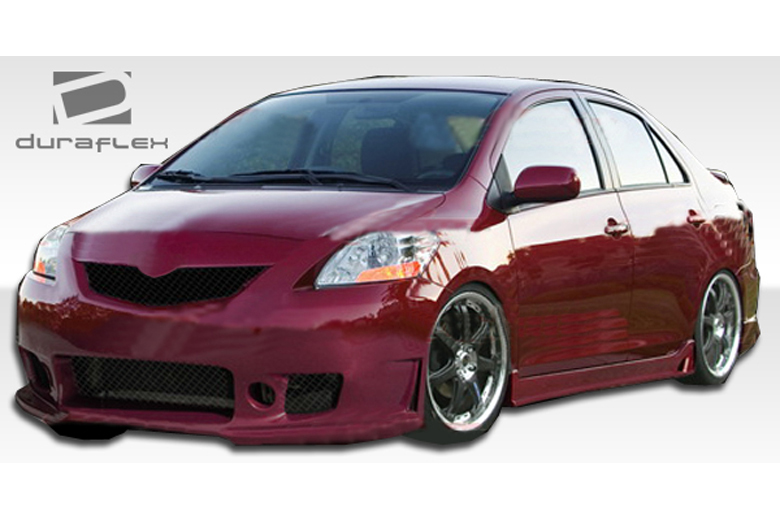 2011 Toyota Yaris Duraflex B-2 Body Kit