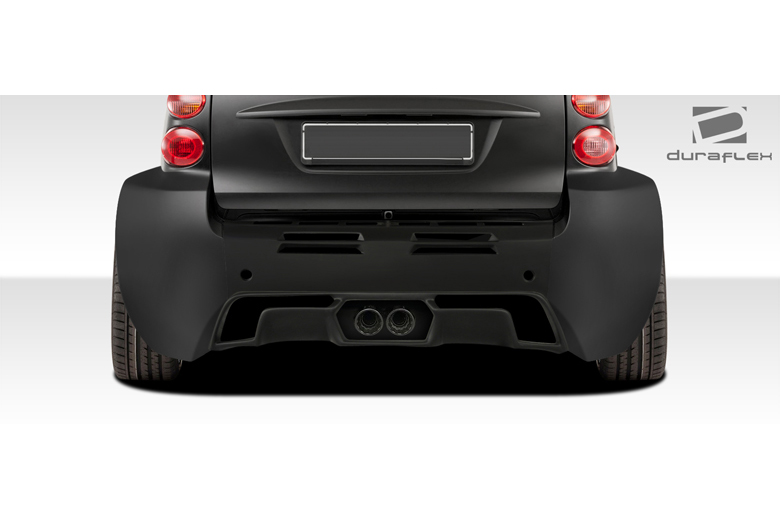 2010 Smart ForTwo Duraflex GT300 Rear Lip (Add On)