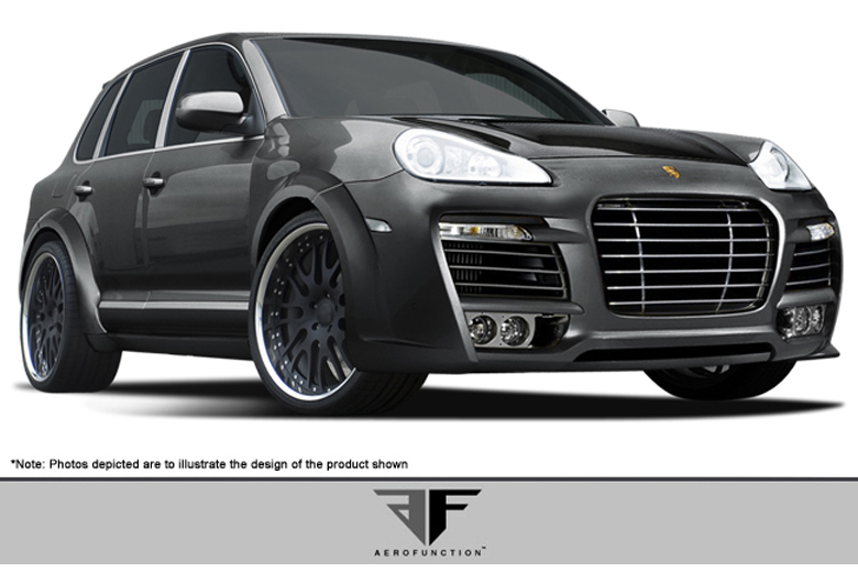 2006 Porsche Cayenne Aero Function AF-1 Body Kit