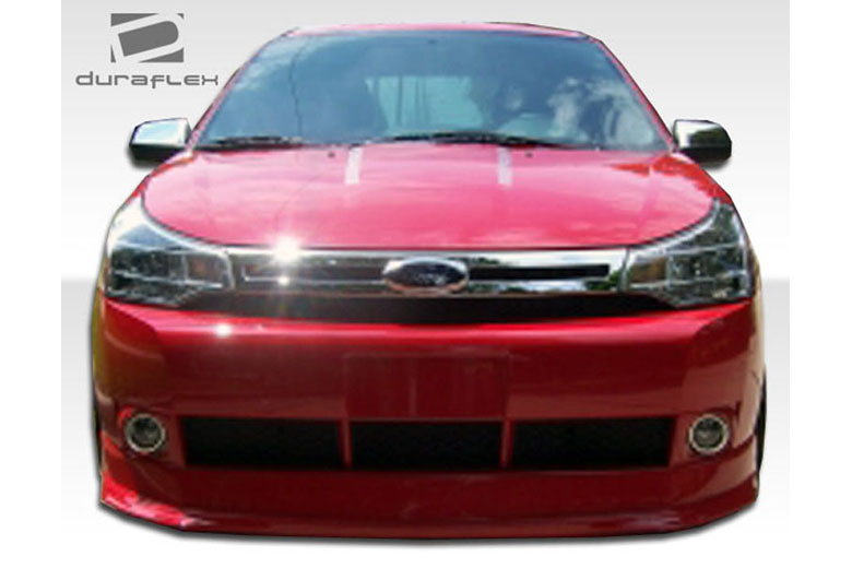 2009 Ford Focus Duraflex Racer Front Lip (Add On)