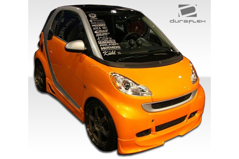 2010 Smart ForTwo Duraflex FX Front Lip (Add On)