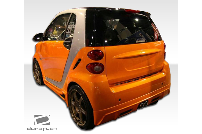 2010 Smart ForTwo Duraflex FX Rear Lip (Add On)
