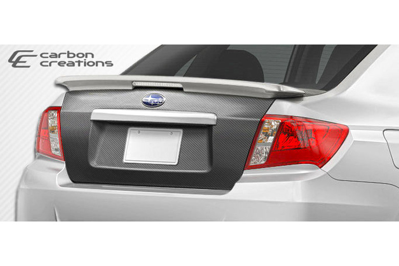 2012 Subaru WRX Carbon Creations Trunk / Hatch