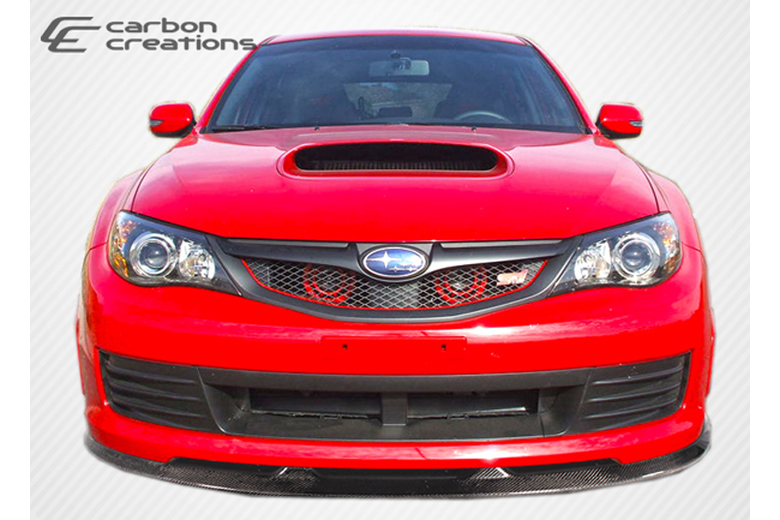 2008 Subaru Impreza Carbon Creations GT Spec Front Lip (Add On)