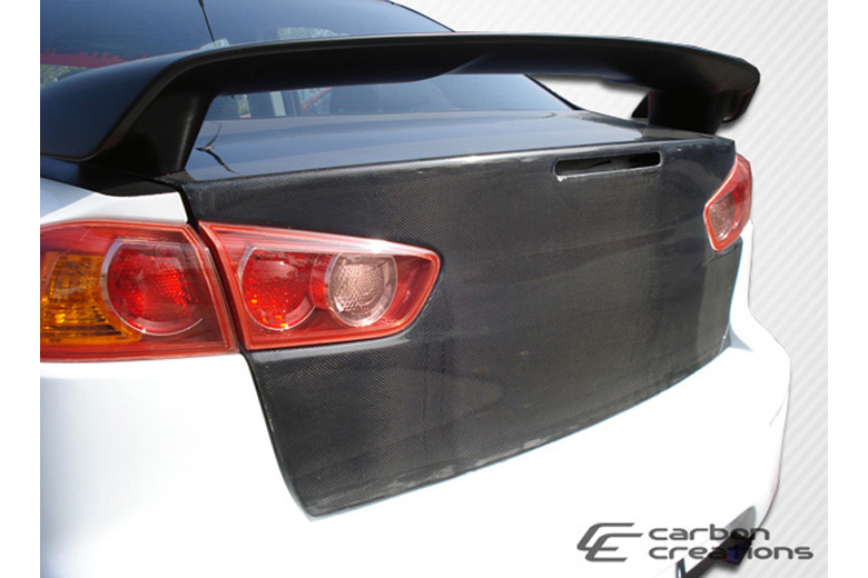 2009 Mitsubishi Evolution Carbon Creations Trunk / Hatch