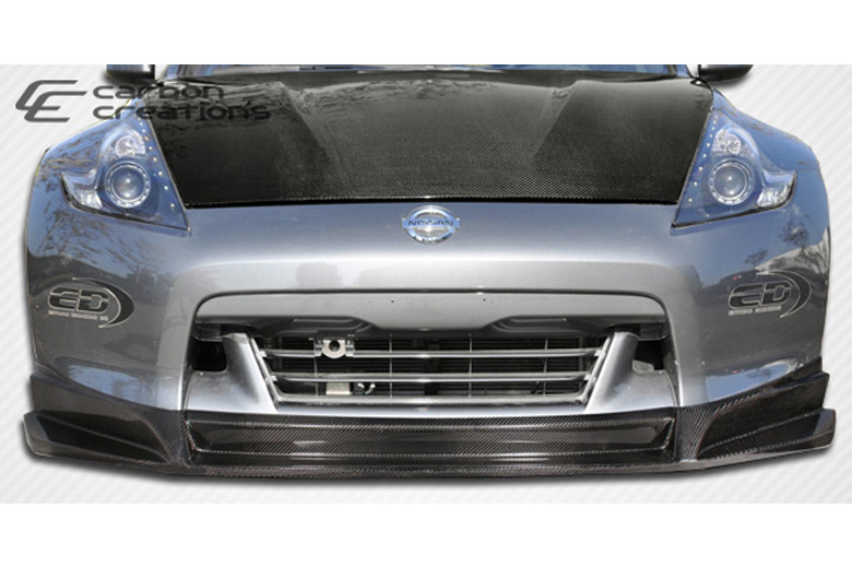 2009 Nissan 370Z Carbon Creations SL-R Front Lip (Add On)