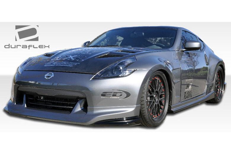 duraflex nissan 370z 2009 2012 n 1 body kit. Black Bedroom Furniture Sets. Home Design Ideas