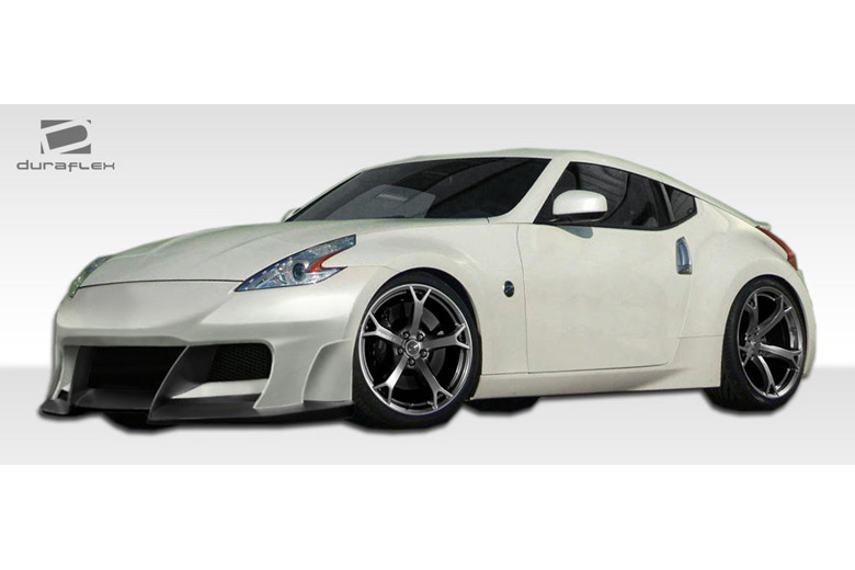 duraflex nissan 370z 2009 2014 w 2 body kit. Black Bedroom Furniture Sets. Home Design Ideas