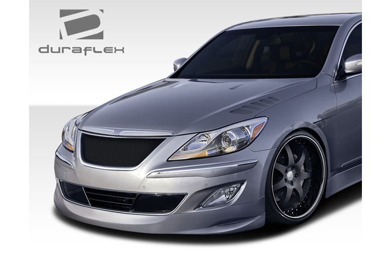 2009 Hyundai Genesis Duraflex Executive Front Lip (Add On)