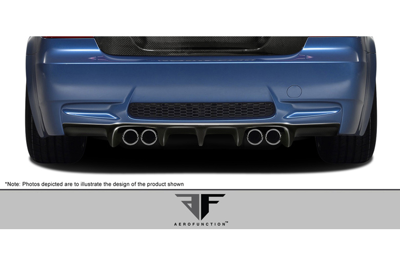 2013 BMW M-Series Aero Function AF-1 Rear Lip (Add On)