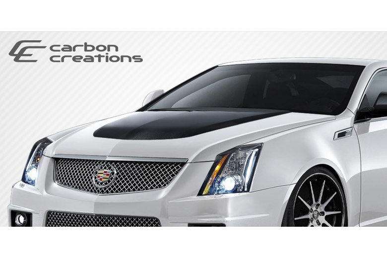 2011 Cadillac CTS Carbon Creations CTS-V Look Hood