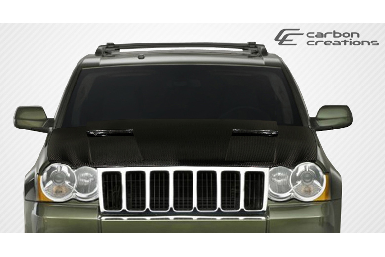 2008 Jeep Grand Cherokee Carbon Creations Challenger Hood