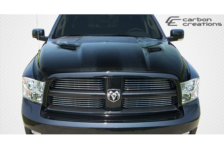 2009 Dodge Ram Carbon Creations MP-R Hood