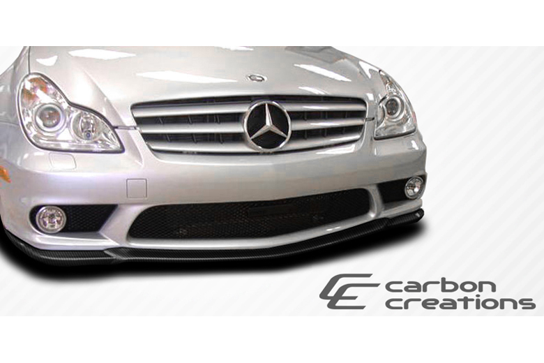 2010 Mercedes CLS-Class Carbon Creations CR-S Front Lip (Add On)