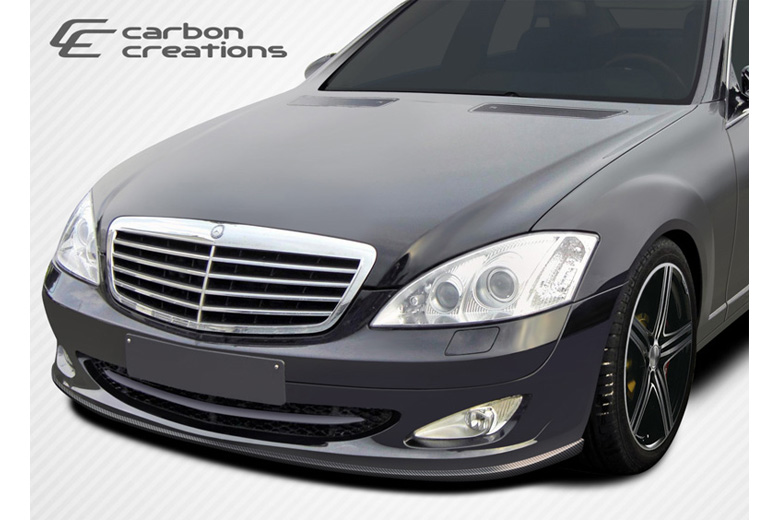 2010 Mercedes S-Class Carbon Creations L-Sport Front Lip (Add On)