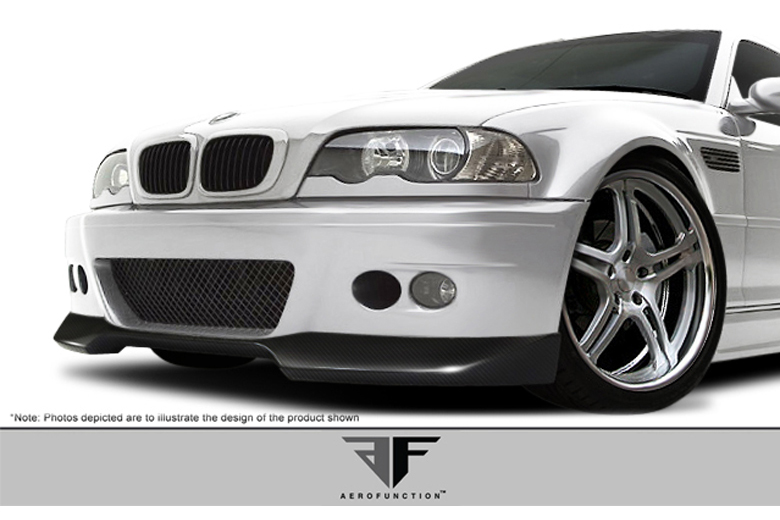 2005 BMW M-Series Aero Function AF-1 Front Lip (Add On)
