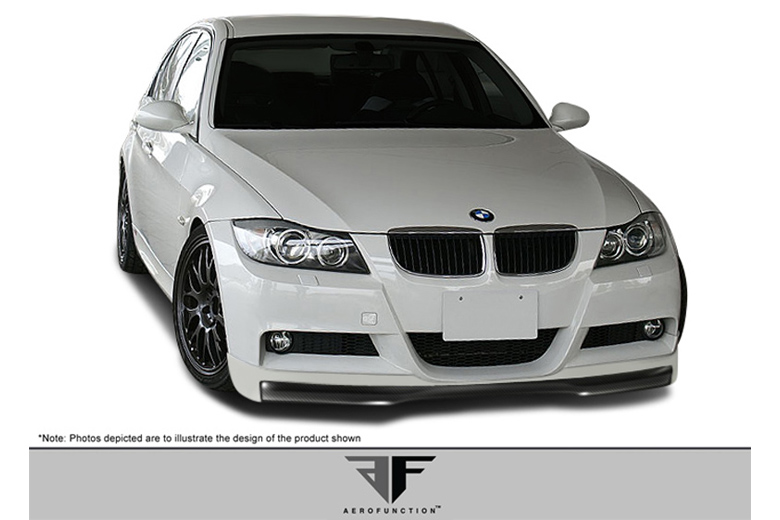 2006 BMW 3-Series Aero Function AF-1 Front Lip (Add On)