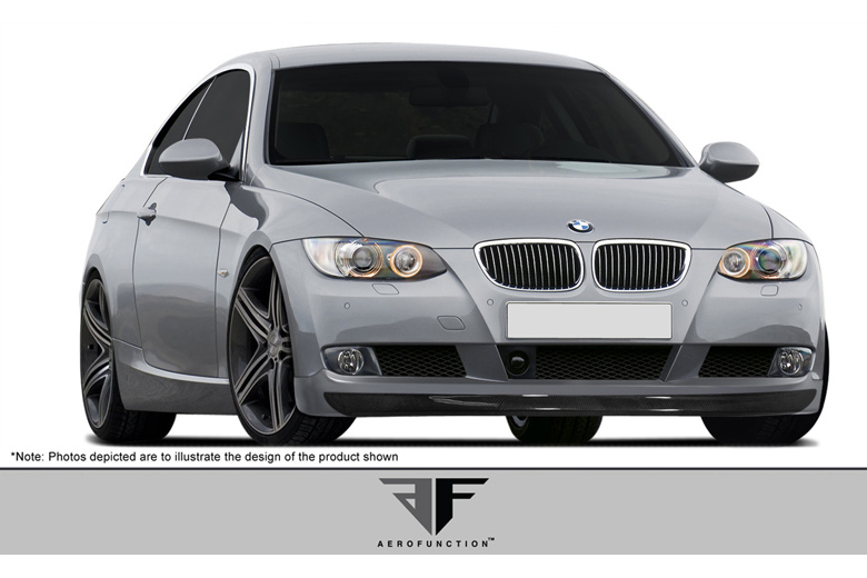 2009 BMW 3-Series Aero Function AF-1 Front Lip (Add On)