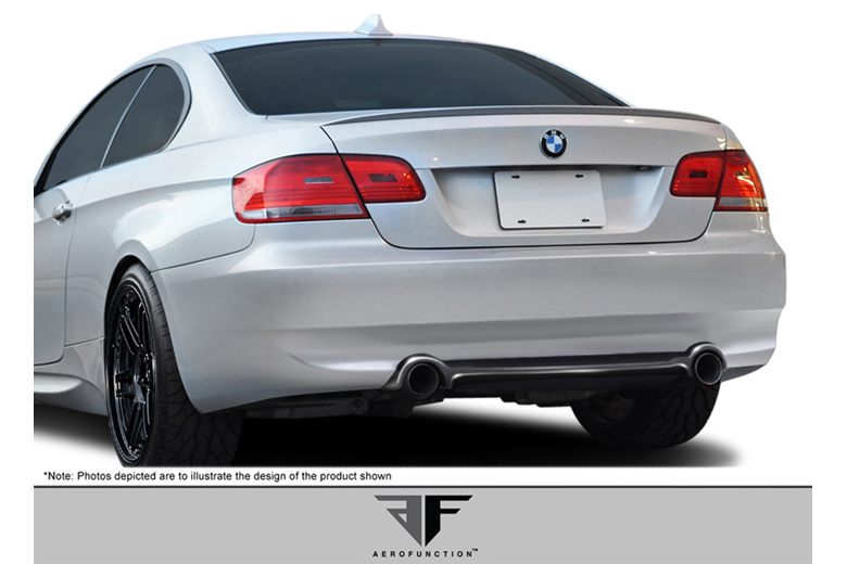2009 BMW 3-Series Aero Function AF-1 Rear Lip (Add On)