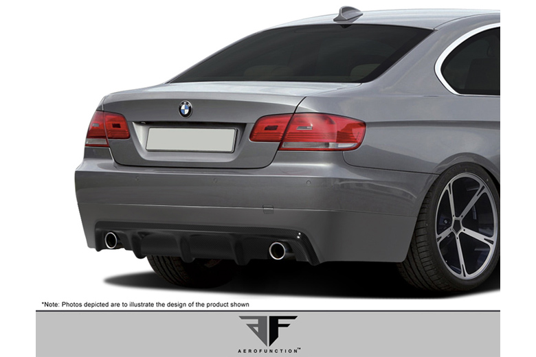 2009 BMW 3-Series Aero Function AF-2 Rear Lip (Add On)