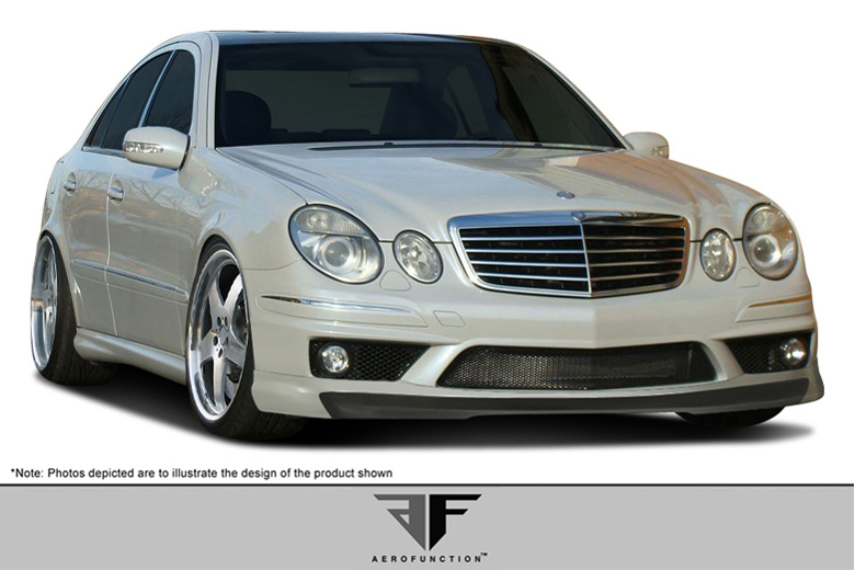 2006 Mercedes E-Class Aero Function AF-1 Front Lip (Add On)