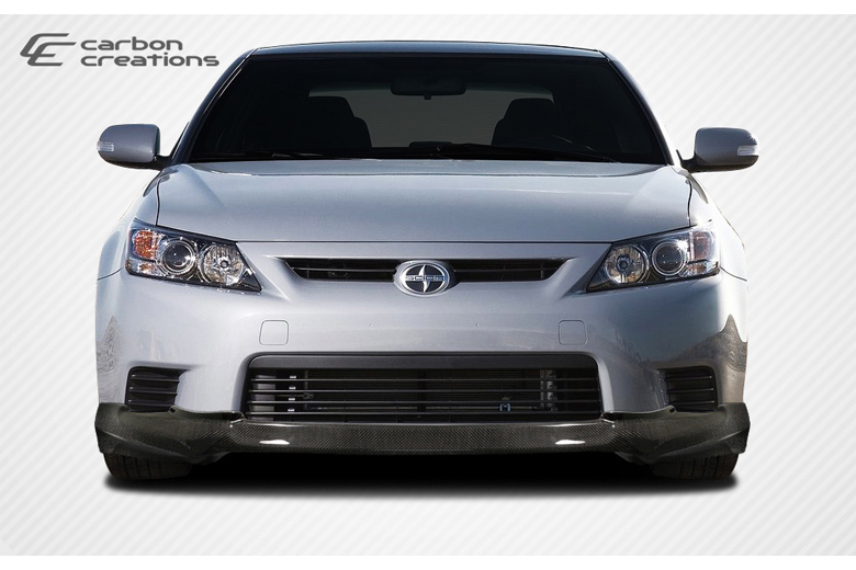2011 Scion tC Carbon Creations X-5 Front Lip (Add On)