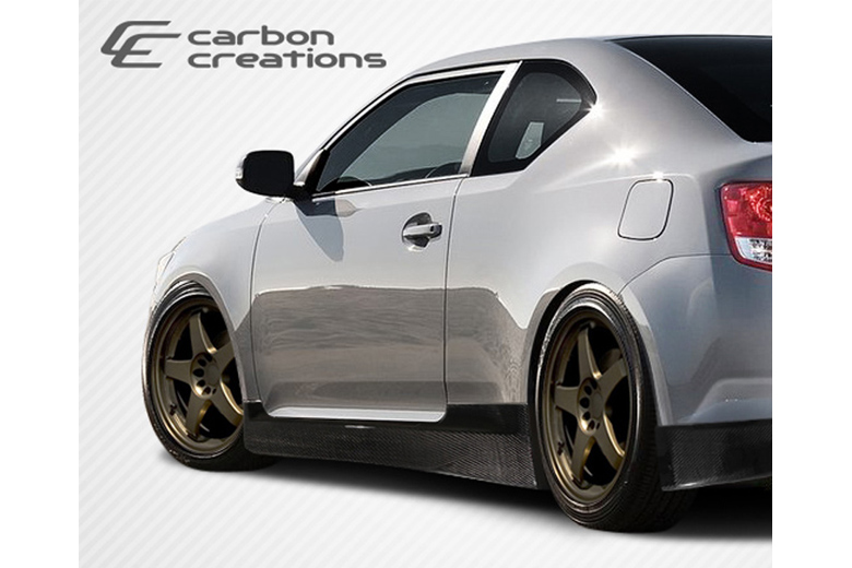 2014 Scion tC Carbon Creations X-5 Sideskirts