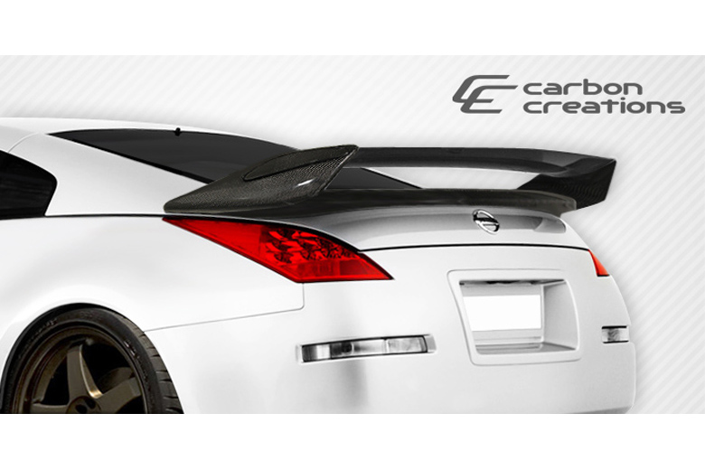 2008 Nissan 350Z Carbon Creations N-2 Spoiler