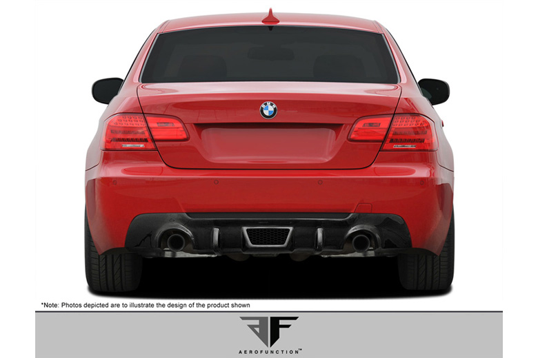 2009 BMW 3-Series Aero Function AF-3 Rear Lip (Add On)