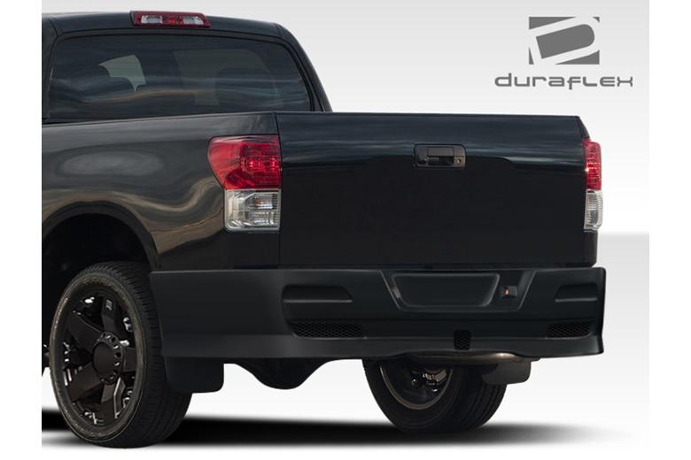 duraflex toyota tundra 2007 2013 bt design rear bumper. Black Bedroom Furniture Sets. Home Design Ideas