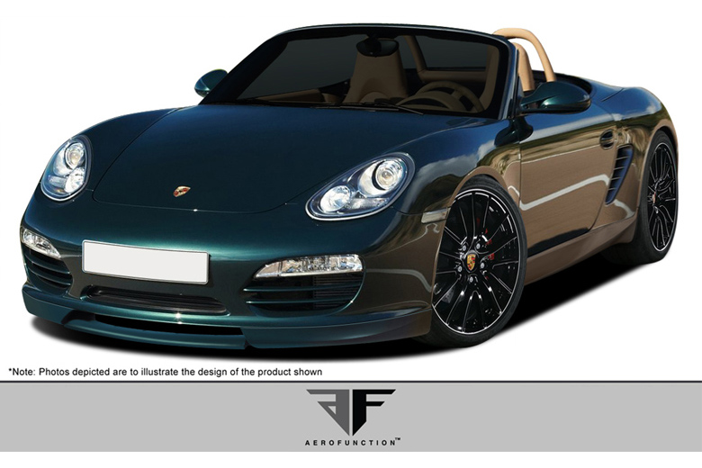 2011 Porsche Boxster Aero Function AF-1 Front Lip (Add On)