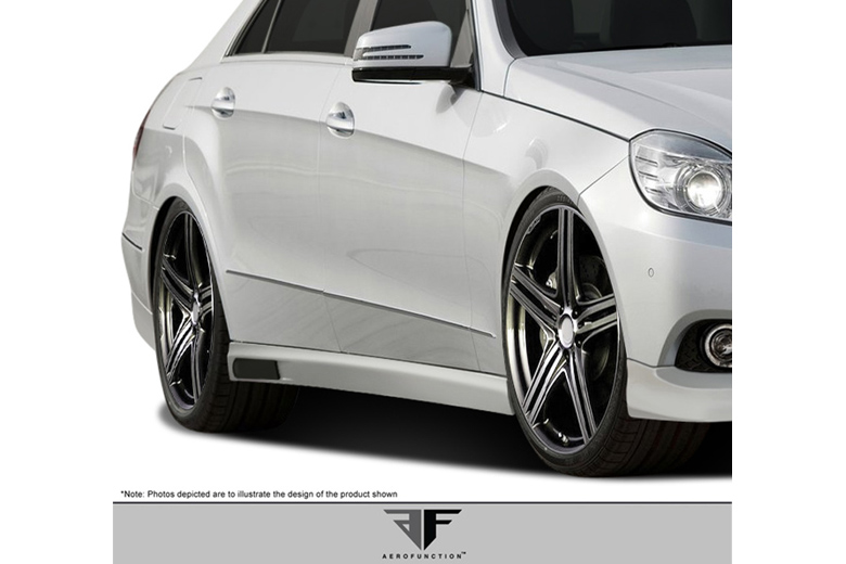 2014 Mercedes E-Class Aero Function AF-1 Sideskirts