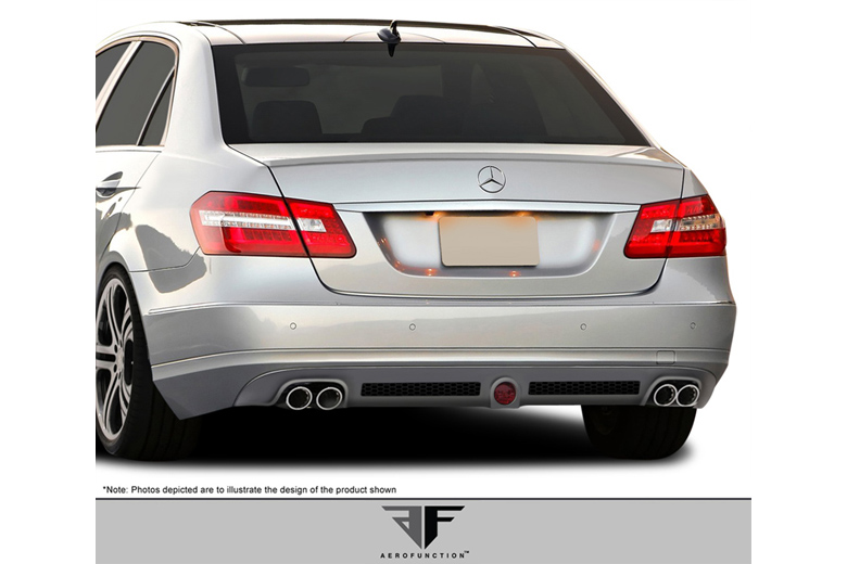 2011 Mercedes E-Class Aero Function AF-1 Front Lip (Add On)