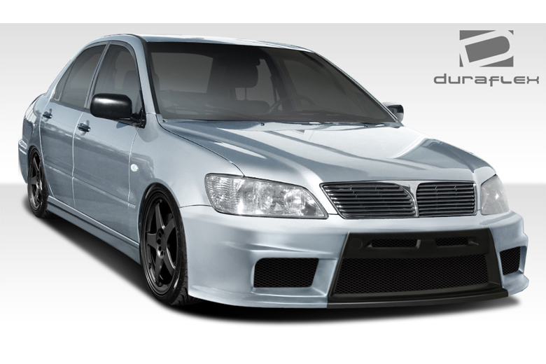 2003 Mitsubishi Lancer Duraflex Evo X Look Body Kit