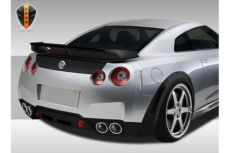 2014 Nissan GTR Duraflex Eros Version 1 Bumper (Rear)