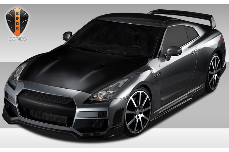 2014 Nissan GTR Duraflex Eros Version 1 Body Kit