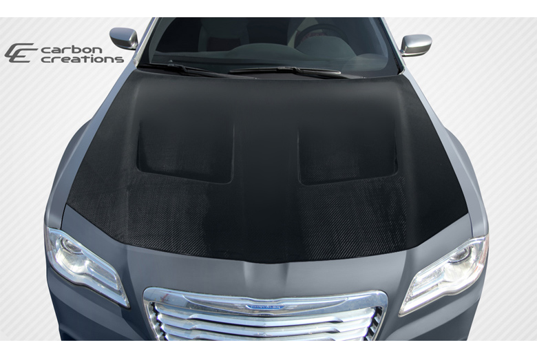 2012 Chrysler 300 Carbon Creations Brizio Hood
