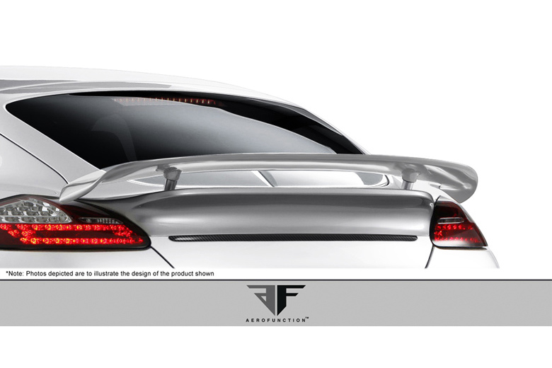 2012 Porsche Panamera Aero Function AF-1 Fog Light Covers