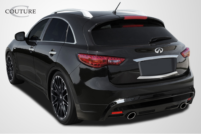 2014 Infiniti FX Couture MZ-S Rear Lip (Add On)