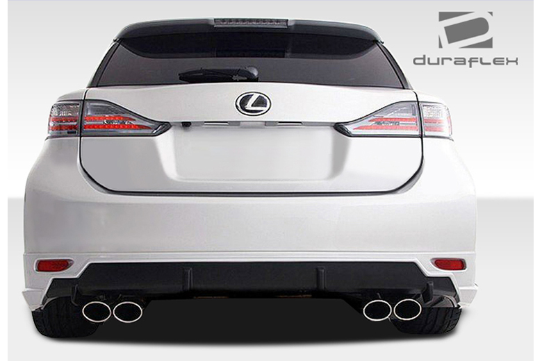 2011 Lexus CT Duraflex TM-S Rear Lip (Add On)