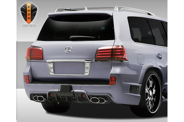 2009 Lexus LX Duraflex Eros Version 1 Bumper (Rear)