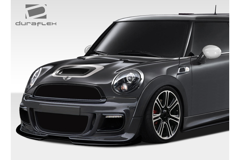 2011 MINI Cooper Duraflex DL-R Front Lip (Add On)