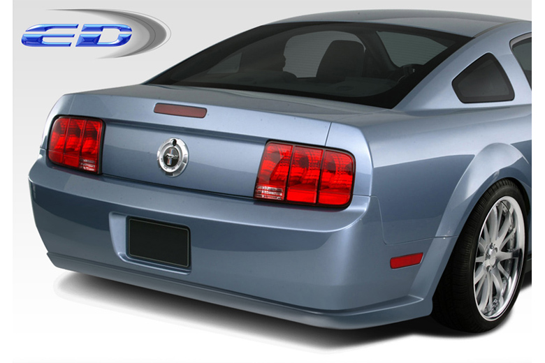 extreme dimensions ford mustang 2005 2009 eleanor rear bumper. Black Bedroom Furniture Sets. Home Design Ideas
