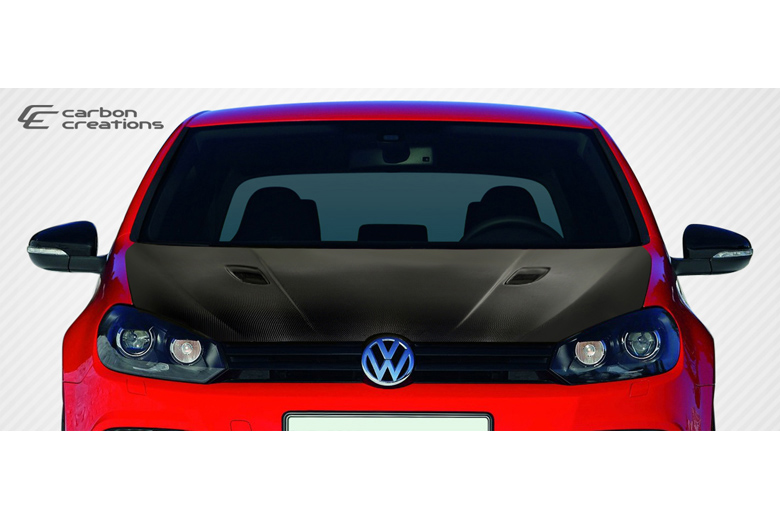 2012 Volkswagen Golf Carbon Creations RV-S Hood
