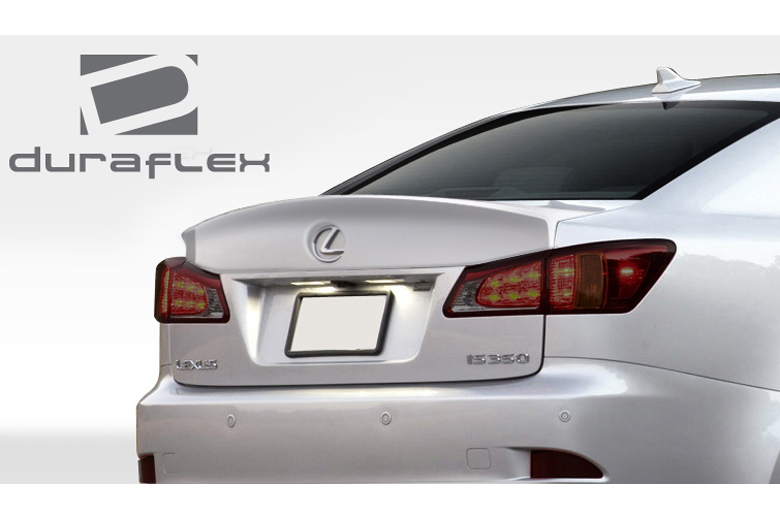 2011 Lexus IS Duraflex W-1 Spoiler