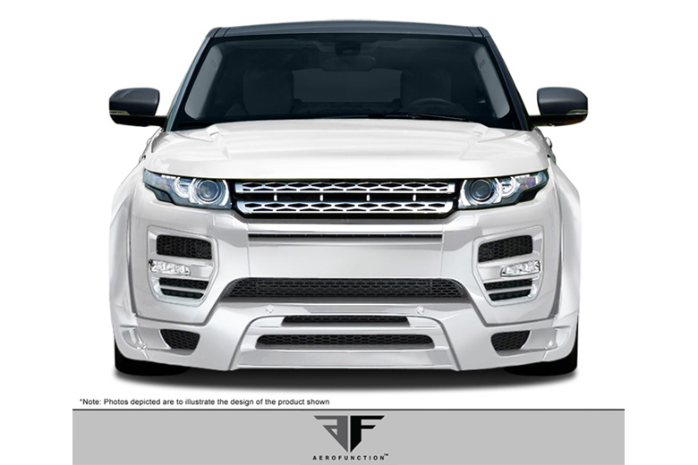 2012 Land Rover Evoque Aero Function AF-1 Front Lip (Add On)