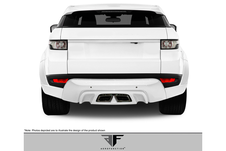 2012 Land Rover Evoque Aero Function AF-1 Rear Lip (Add On)