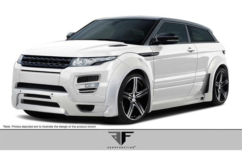 2012 Land Rover Evoque Aero Function AF-1 Body Kit